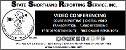 State Shorthand Reporting Services, Inc.